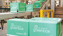 Photo of the image re-usable and recyclable greenbox